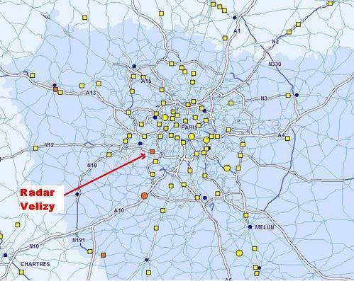 carte radars a86