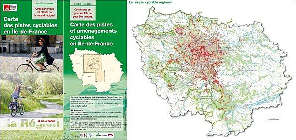 Circulation douce, Île-de-France : Carte des pistes cyclables - Gazette du Pays Montfortois