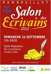 Rambouillet 4 me salon des crivains le dimanche 16 for Sortir dimanche yvelines