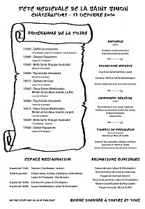 Chateaufort f te m di vale de la st simon le 17 octobre for Sortir yvelines dimanche