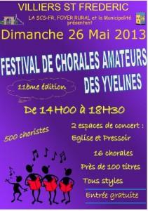Villiers saint fr d ric 11 me edition du festival des for Sortir dimanche yvelines