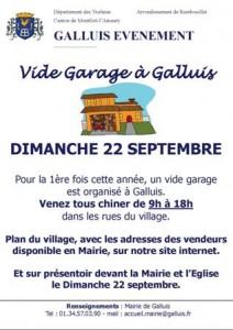 Galluis vide garage le dimanche 22 septembre 2013 for Garage scooter ouvert le dimanche